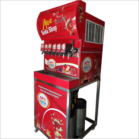 Multi Flavored Valve Soda Vending Machine