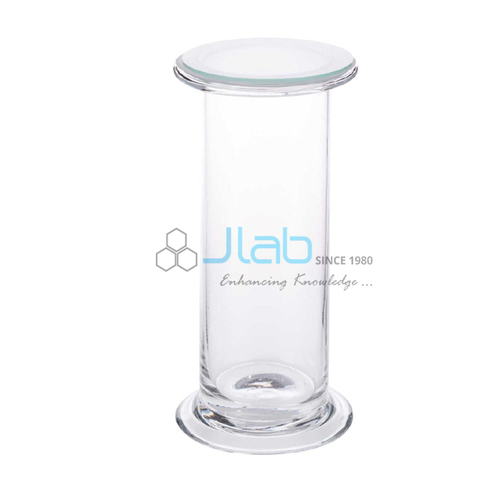 Gas Jar with Glass Lid