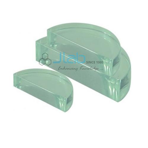 Semi Circular Block Glass