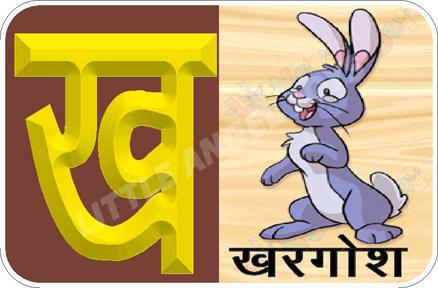 Hindi Alphabet Flash Cards