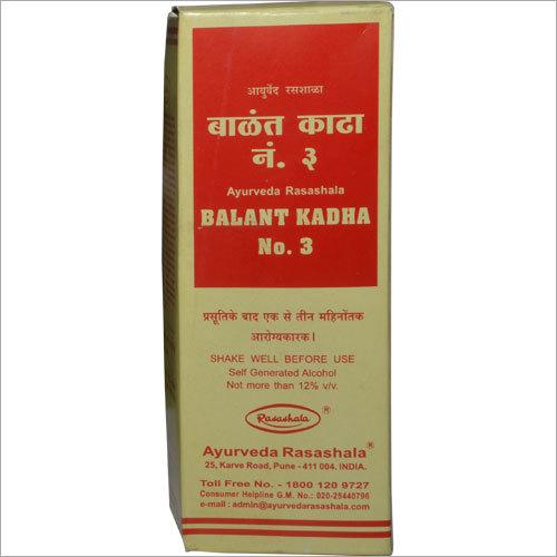 Balant Kadha No.3 Syrup
