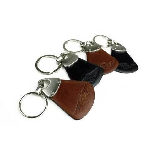 Personalized Leather Keyring