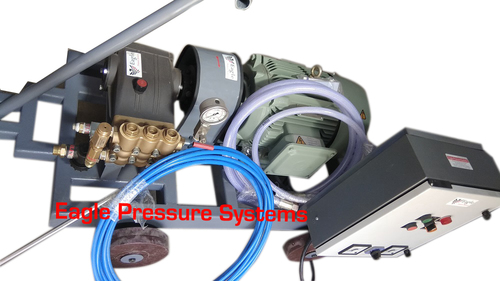 High Pressure Jet Tube Cleaner