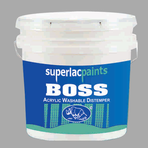 Boss Acrylic Washable Distemper