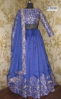 Blue Color New Designed Lehenga