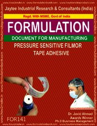 Pressure Sensitive Film our Type adhesive