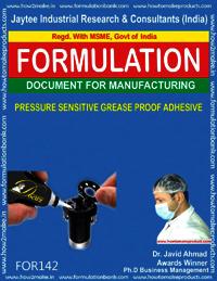Pressure Sensitive Grease Proof Adhesive