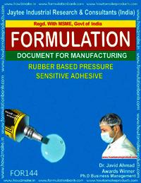 Rubber Based Pressure Sensitive Adhesive