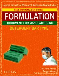 Detergent Bar/Cake Type