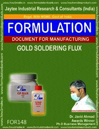 Gold Soldering Flux