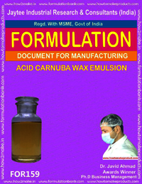 Acid Carnuba Wax Emulsion