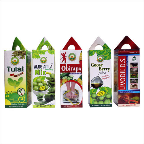 Fruit Drink Box Printing Service