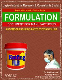 Automobile knifing paste stoving filler