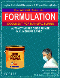 Automotive red oxide primer based NC medium