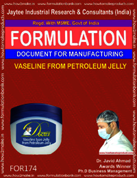 Vaseline from petroleum jelly