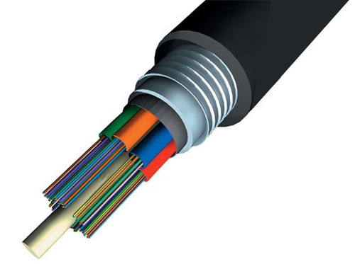 24 Multi Mode Armoured Fiber Optic  Cable