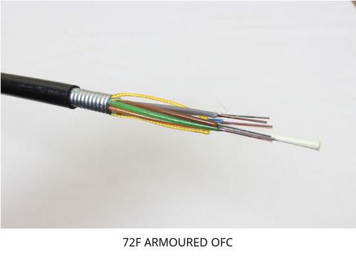 4 Multimode Armoured Fiber Optic cable