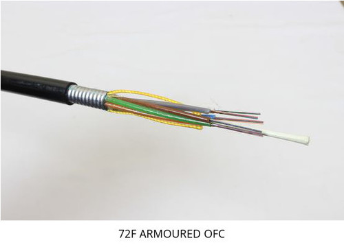 4 Multimode Armoured Fiber Optic cable