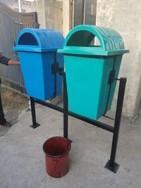 Plastic Double Dustbin