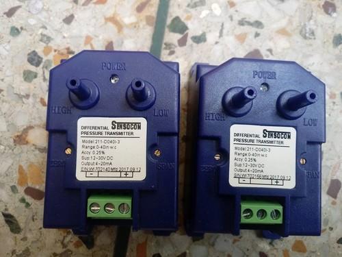 Sensocon USA SERIES 211-D001I-1 Differential Pressure Transmitter