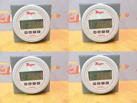 Dwyer USA DM-1111 Digi Mag Digital Pressure Gage With Range of 0 to 50 in w.c.