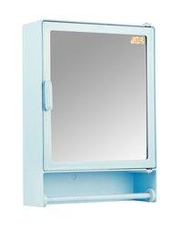 Bathroom Cabinet Rod Blue