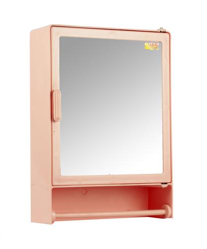Bathroom Cabinet Rod Pink