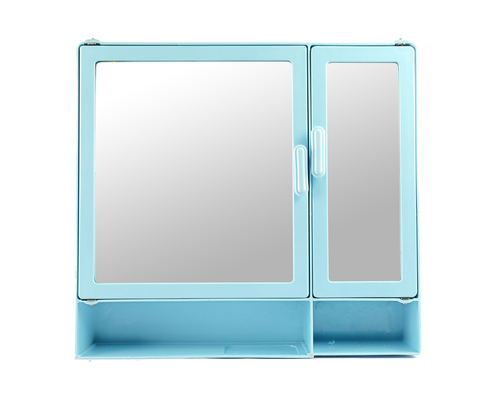 Bathroom Cabinet D-Shelf Blue