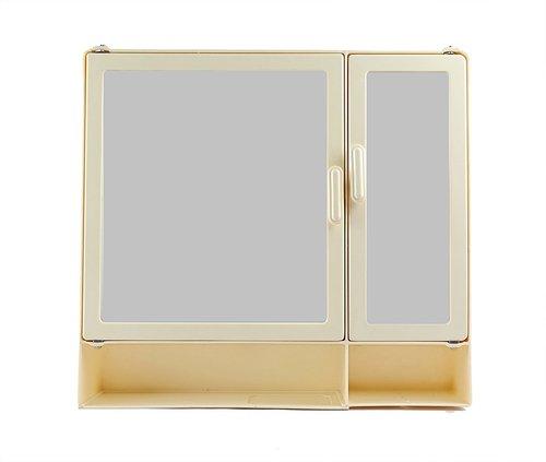 Bathroom Cabinet D-Shelf Ivory