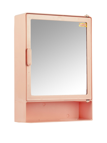 Bathroom Cabinet Shelf Pink
