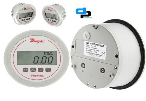Dwyer USA DM-1125 Digi Mag Differential Pressure Gauge