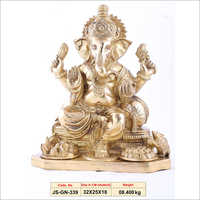 Golden Ganesh Pics