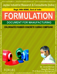 Cholorinated rubber concrete curing compound