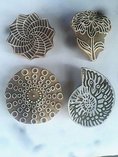 Block Print Wooden Block