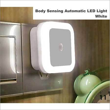 Body Sensing Automatic LED light white