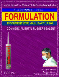 Commercial Butyl Rubber Sealant
