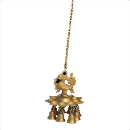 Brass Hanging Diya