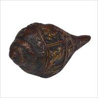 Antique Finish Brass Shankh
