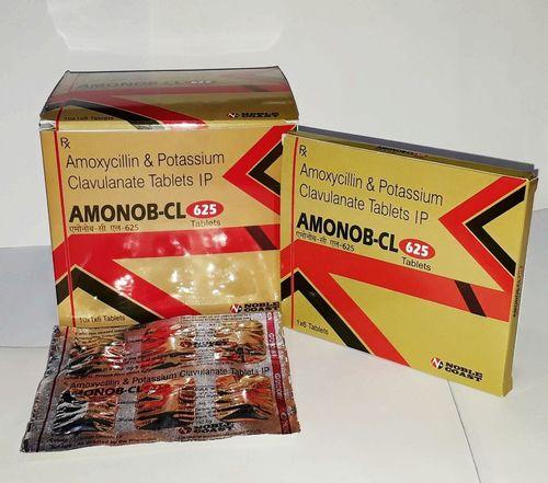 Amoxycillin 500mg. + Clavulanic Acid 125mg. Tablets