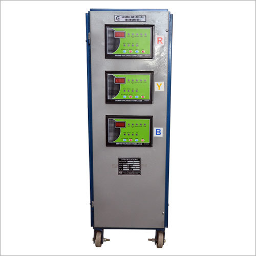 Three Phase Air Cooled Servo Stablizer