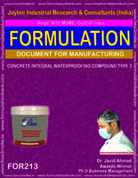 Concrete Integral Waterproofing Compound Type 3