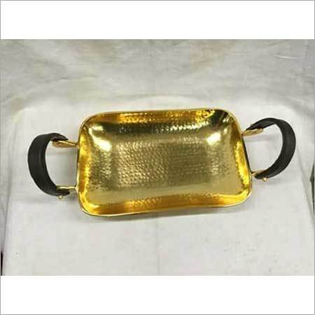 alluminium  golden tray