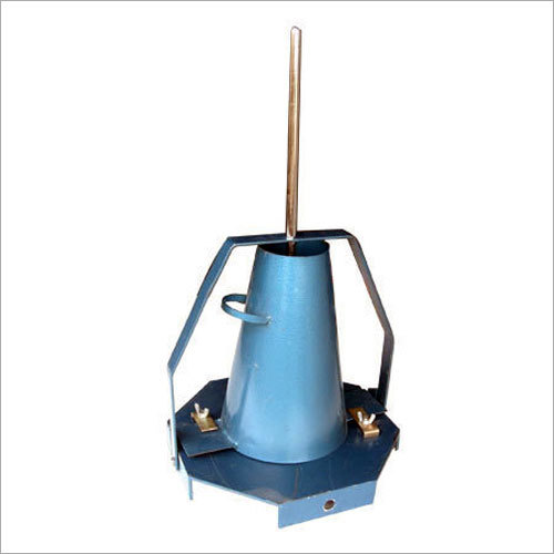 Slump Cone Test Apparatus