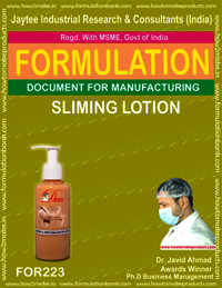 Sliming Lotion Making