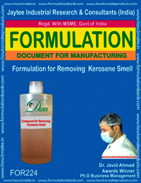 Removing Kerosene Smell