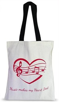 Printed Canvas Shopping Bags