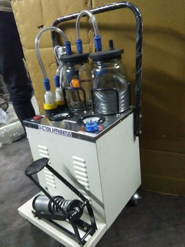 Suction Machine Electric Cum Manual