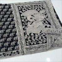 Ladies Kalamkari Designer Print Sarees