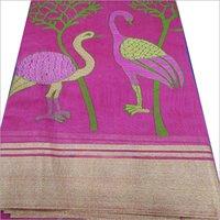 Ladies Pure Handloom Cotton Sarees