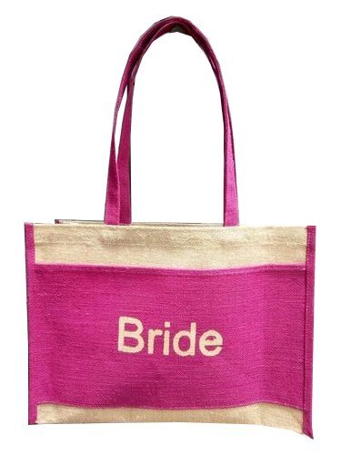 Jute Canvas Bag